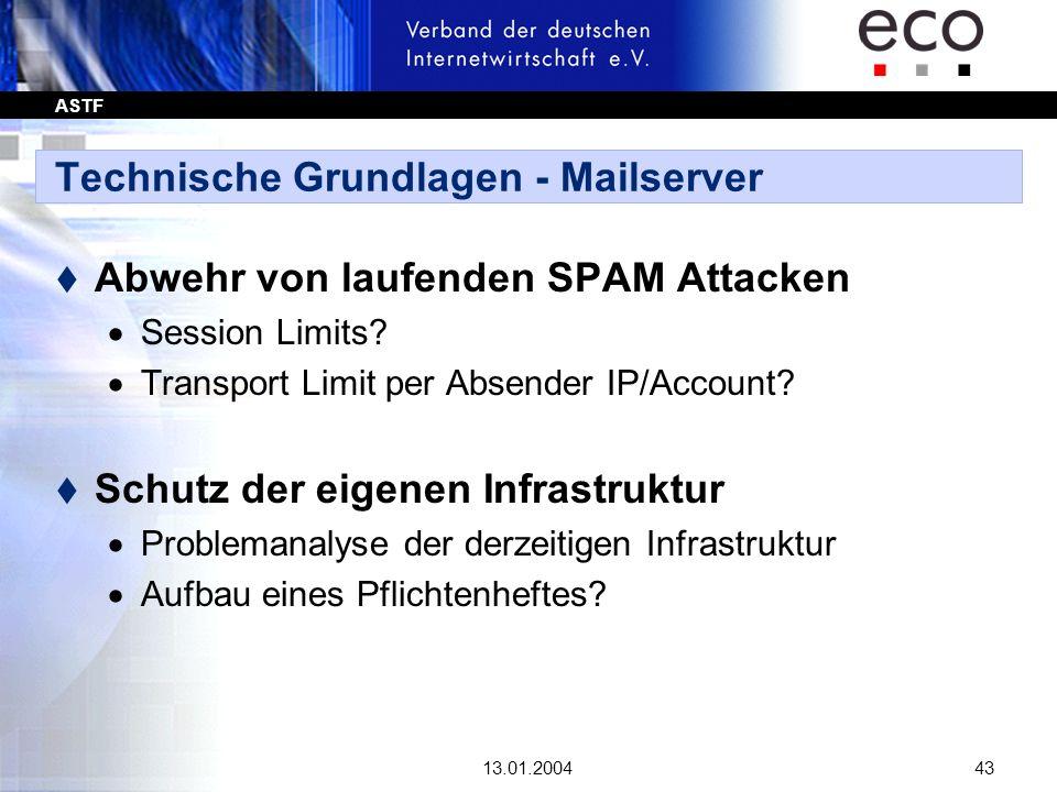Technische Grundlagen - Mailserver