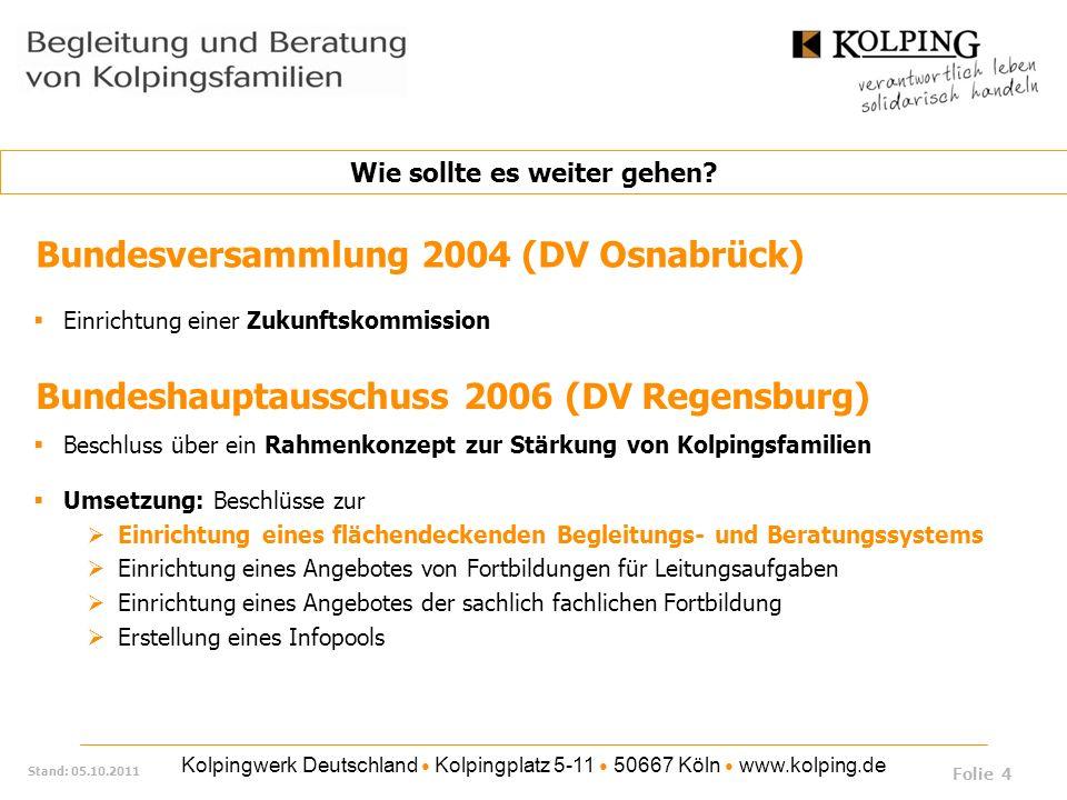 Bundeshauptausschuss 2006 (DV Regensburg)