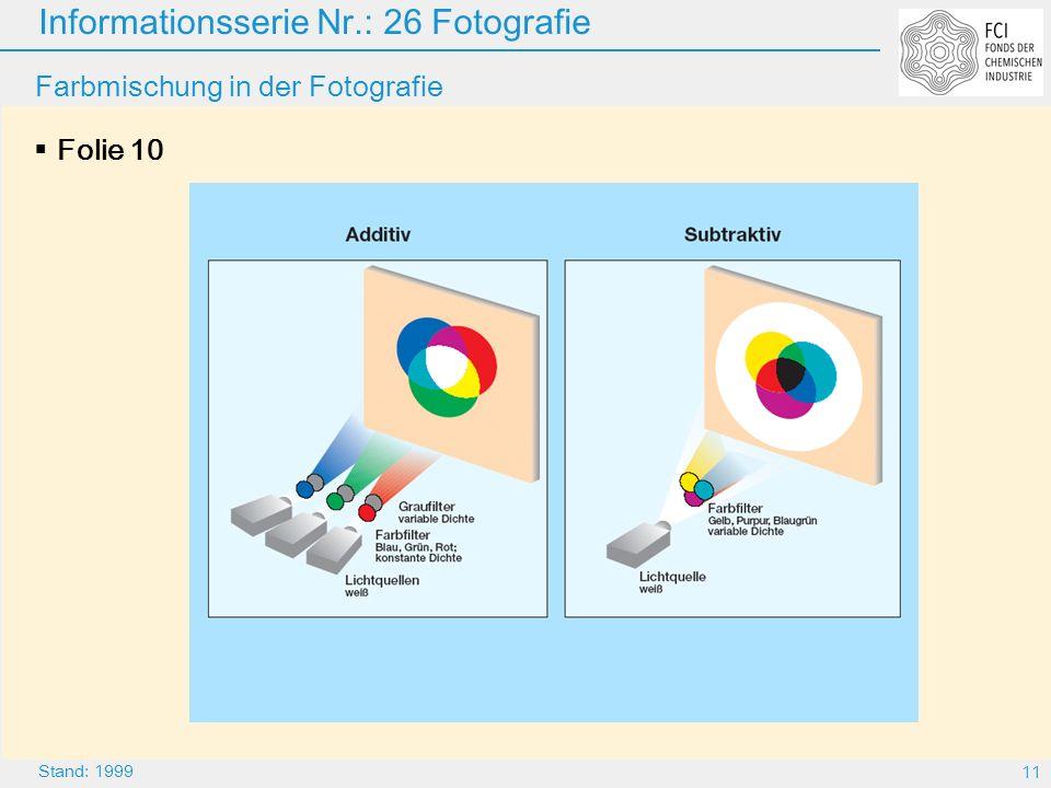 Farbmischung in der Fotografie