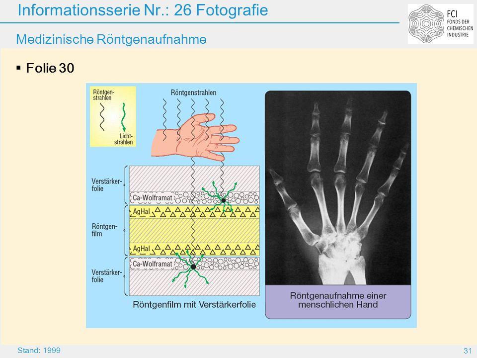 Medizinische Röntgenaufnahme