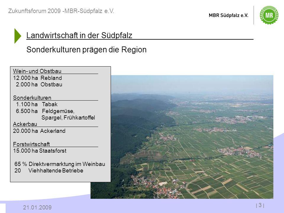 Landwirtschaft in der Südpfalz Sonderkulturen prägen die Region