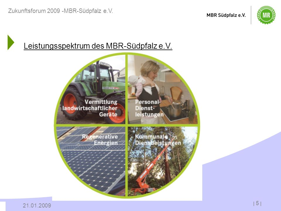 Leistungsspektrum des MBR-Südpfalz e.V.