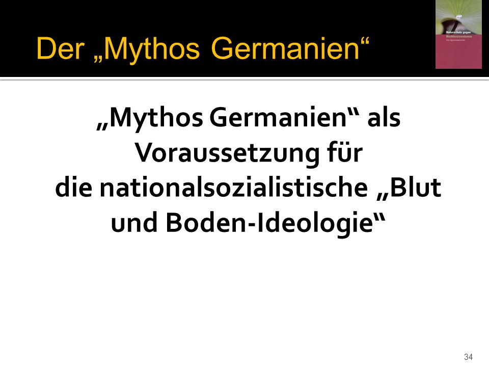 "Der ""Mythos Germanien"