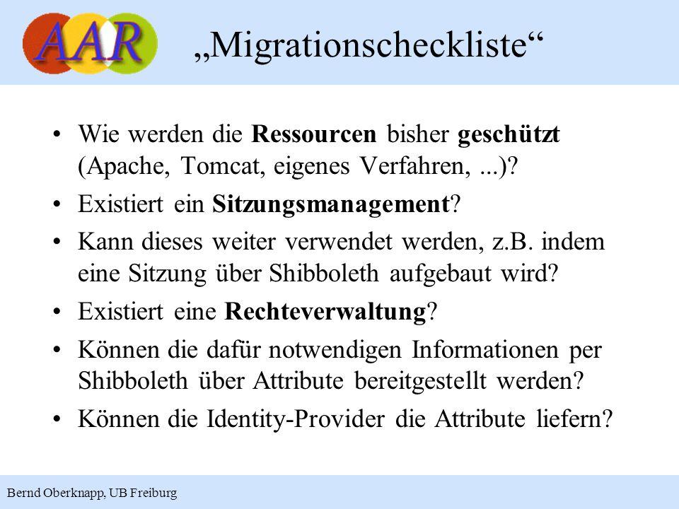 """""""Migrationscheckliste"""