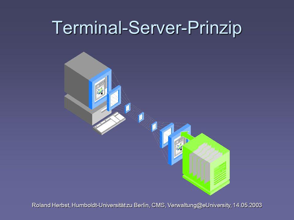 Terminal-Server-Prinzip