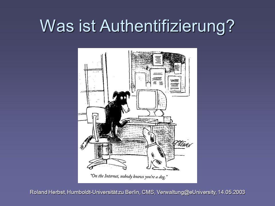 Was ist Authentifizierung
