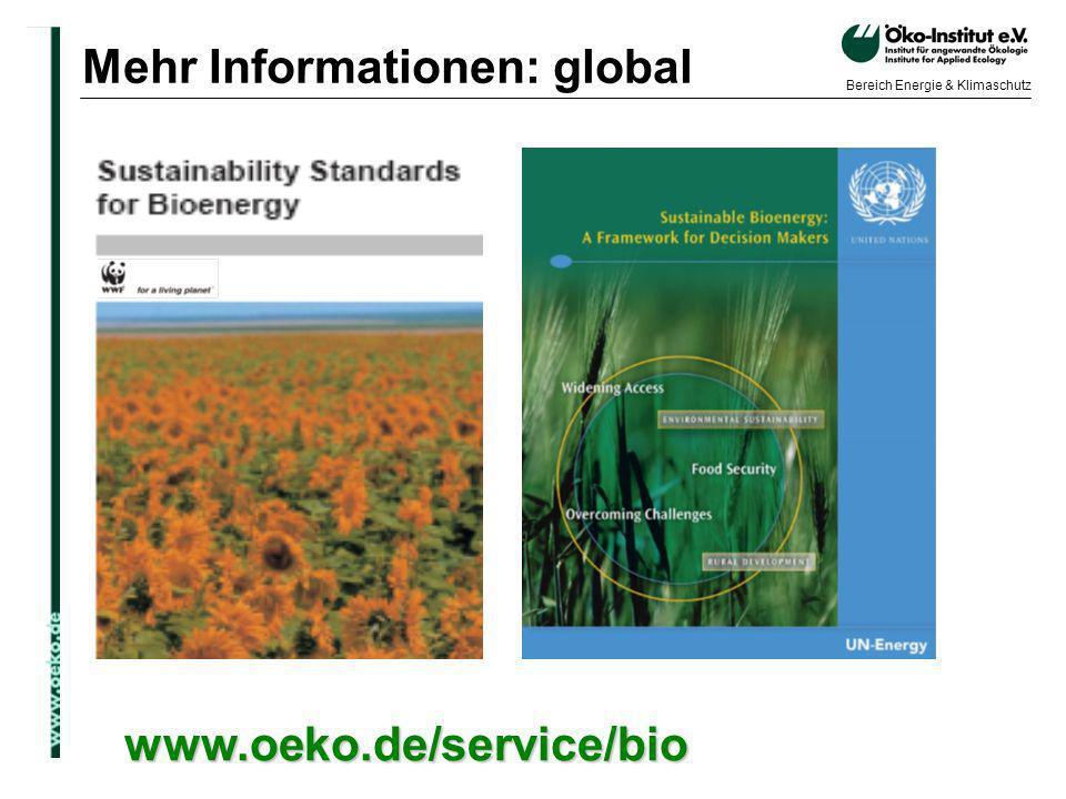 Mehr Informationen: global