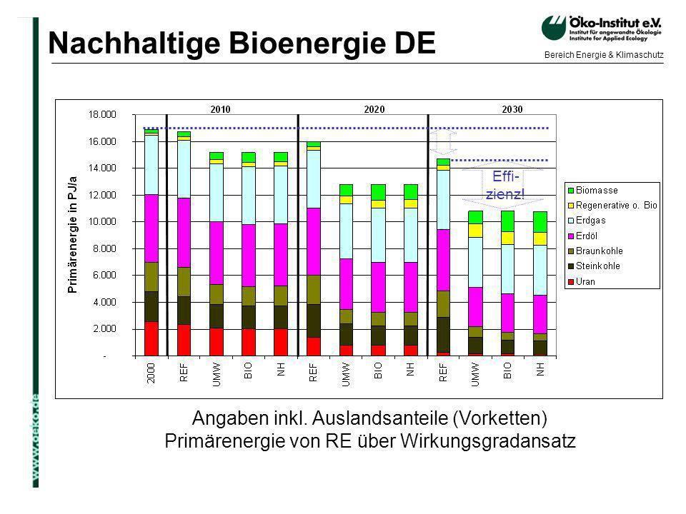 Nachhaltige Bioenergie DE