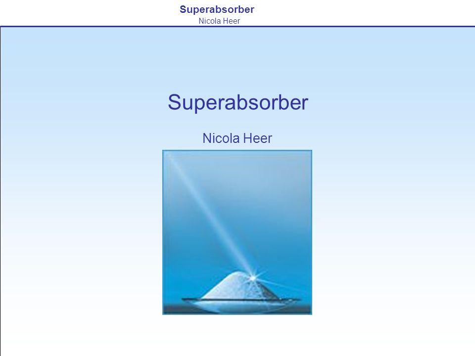 Superabsorber Nicola Heer Superabsorber Nicola Heer
