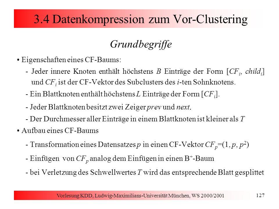 3.1 Distanzfunktionen Distanzfunktionen für numerische Attribute
