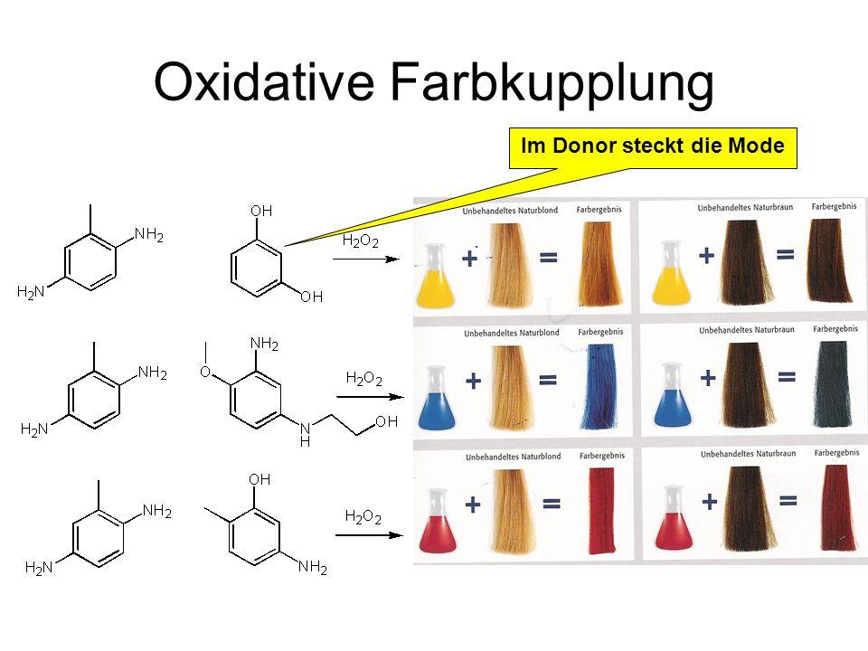 Oxidative Farbkupplung
