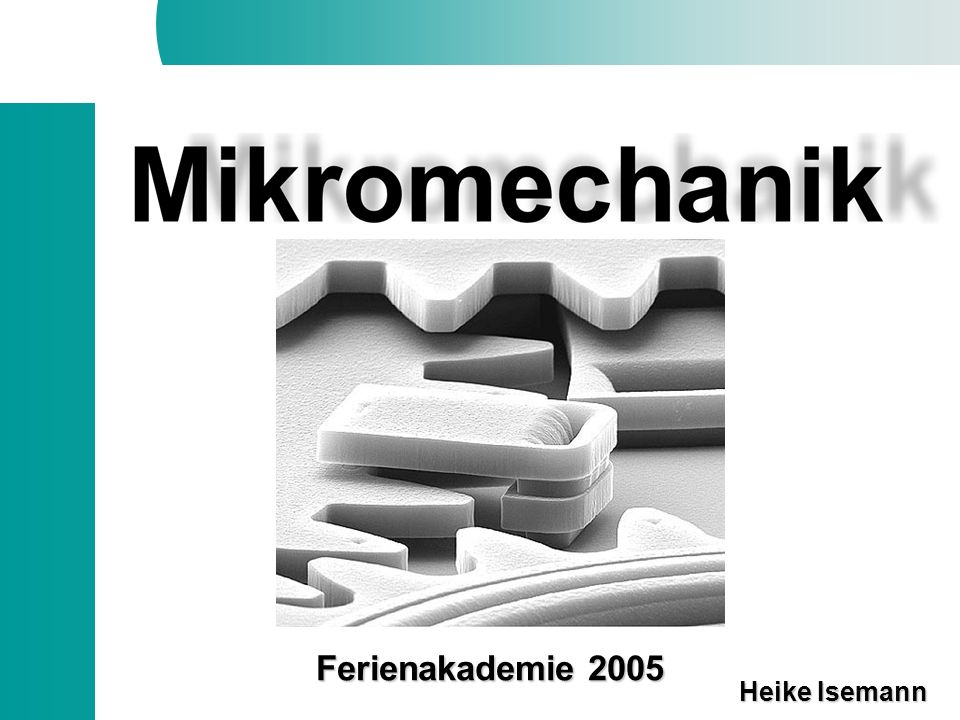 Ferienakademie 2005 Heike Isemann