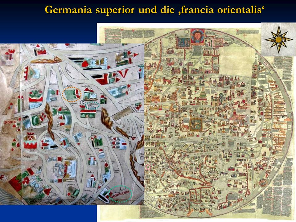 Germania superior und die 'francia orientalis'