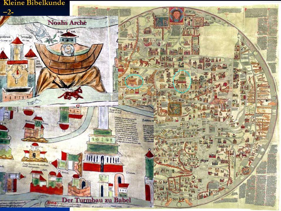 Kleine Bibelkunde –2- Noahs Arche Der Turmbau zu Babel