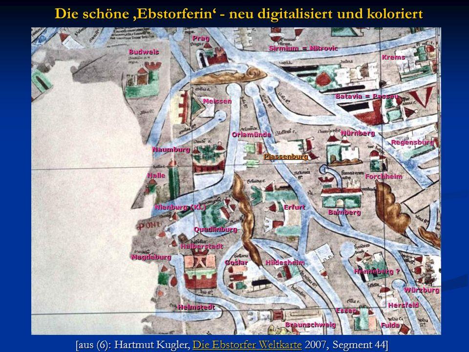 Die schöne 'Ebstorferin' - neu digitalisiert und koloriert