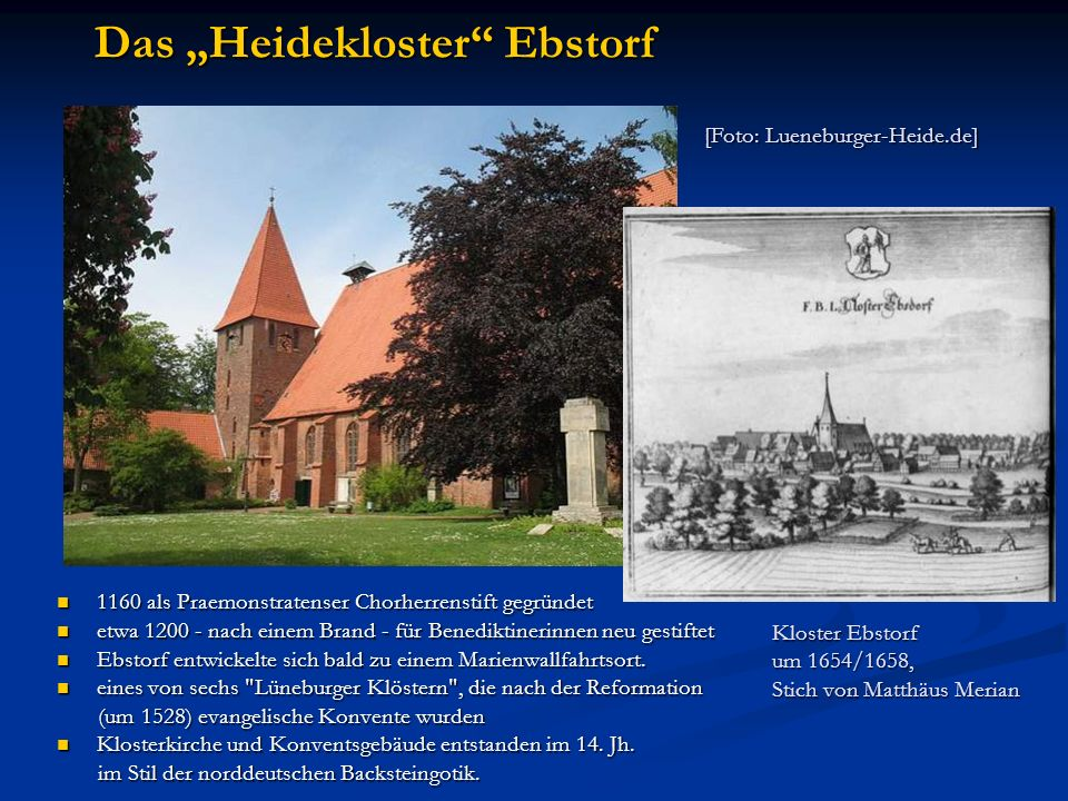 "Das ""Heidekloster Ebstorf"