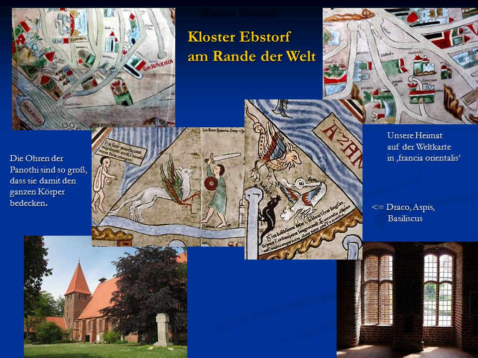Kloster Ebstorf am Rande der Welt