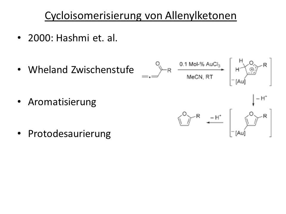 Cycloisomerisierung von Allenylketonen