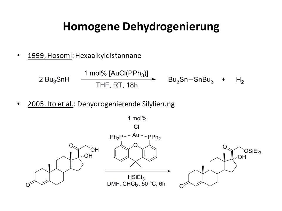 Homogene Dehydrogenierung