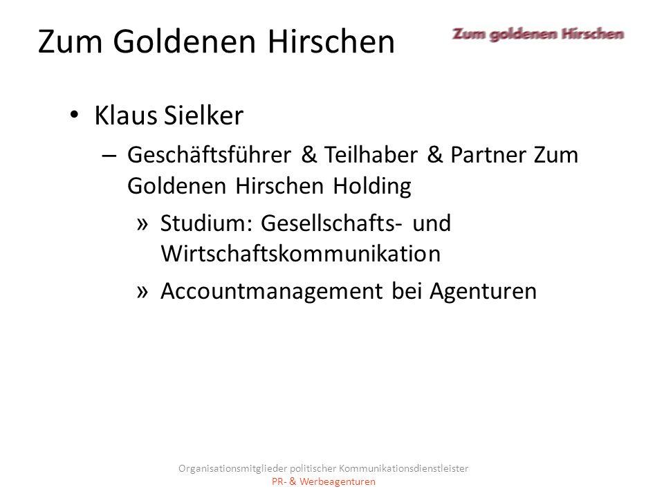 Zum Goldenen Hirschen Klaus Sielker