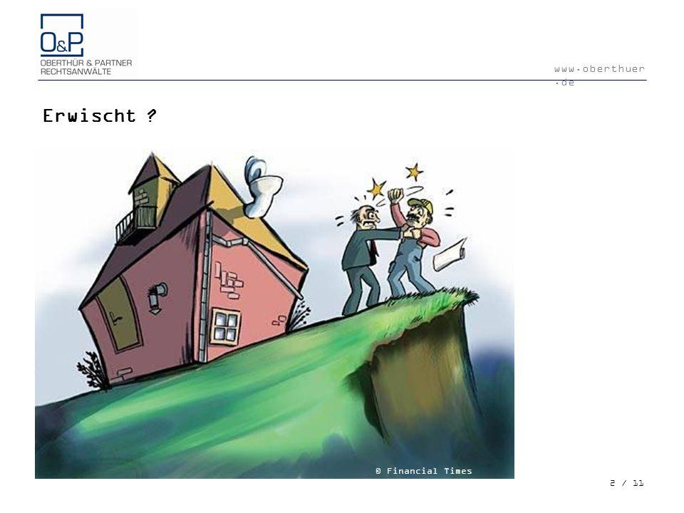 Erwischt © Financial Times Deutschland 2 / 11