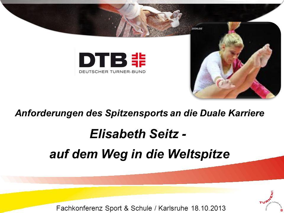 Elisabeth Seitz - auf dem Weg in die Weltspitze