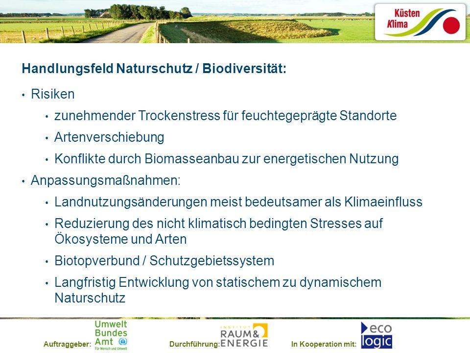 Handlungsfeld Naturschutz / Biodiversität: