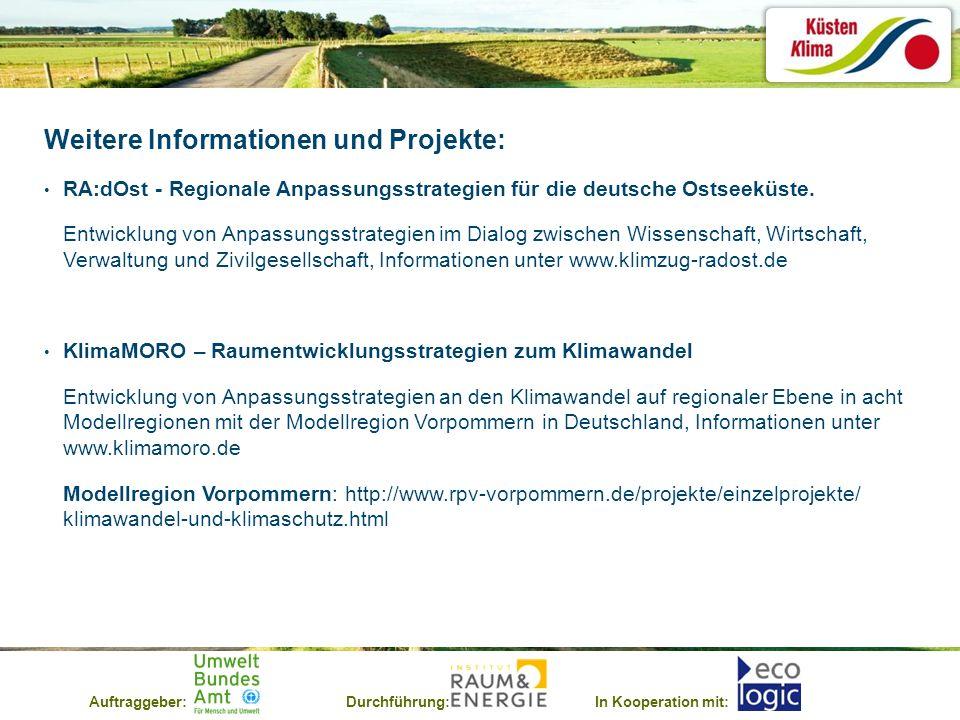 Weitere Informationen und Projekte: