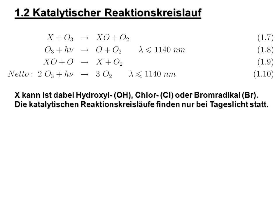 1.2 Katalytischer Reaktionskreislauf