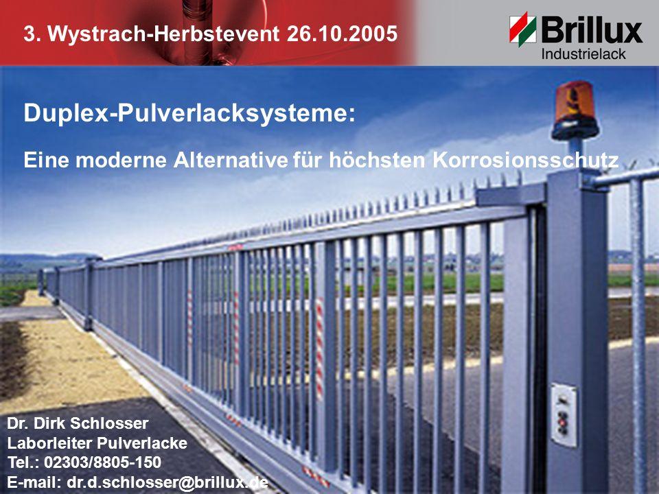 Duplex-Pulverlacksysteme:
