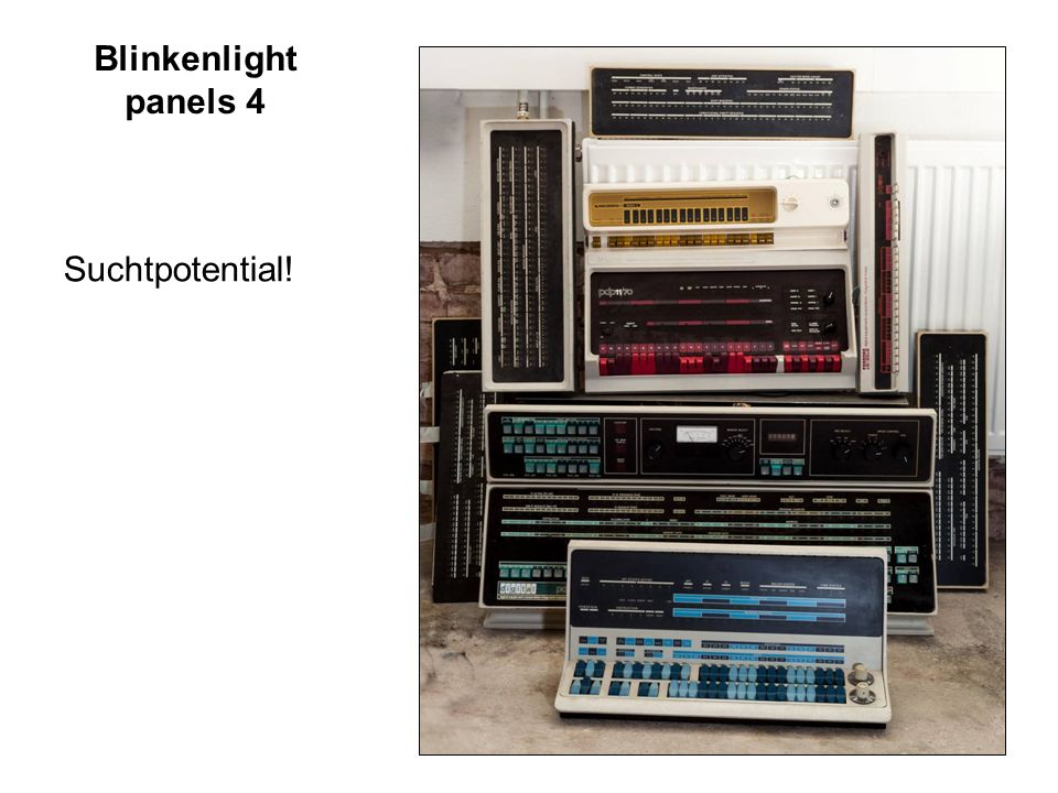 Blinkenlight panels 4 Suchtpotential!