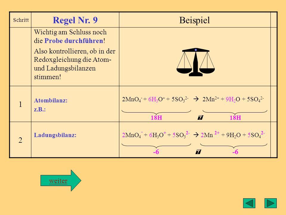 Regel9 Regel Nr. 9 Beispiel 1 2