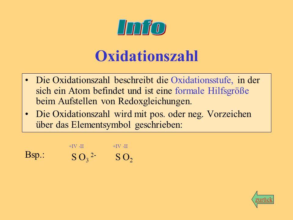 Info Oxidationszahl.