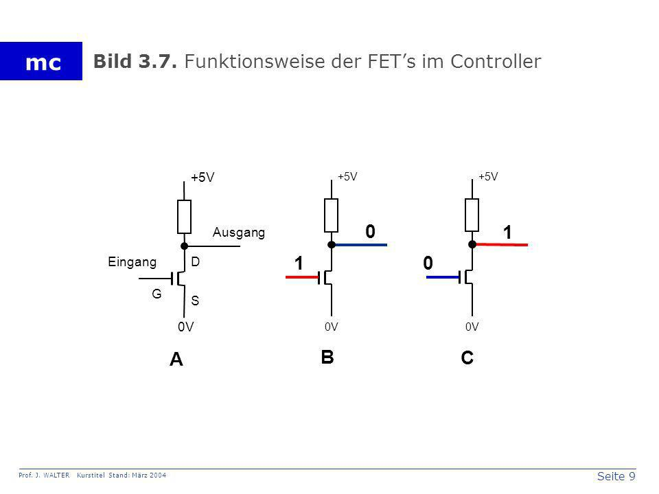 Bild 3.7. Funktionsweise der FET's im Controller