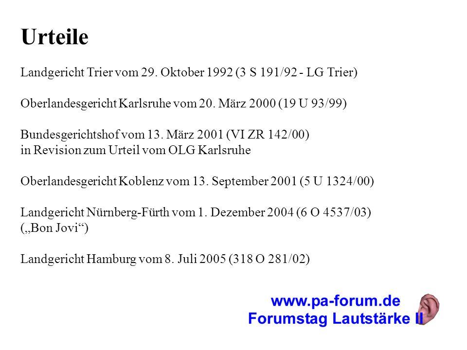 Urteile Landgericht Trier vom 29. Oktober 1992 (3 S 191/92 - LG Trier)