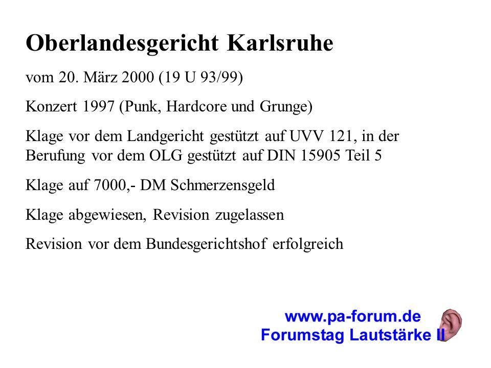 Oberlandesgericht Karlsruhe