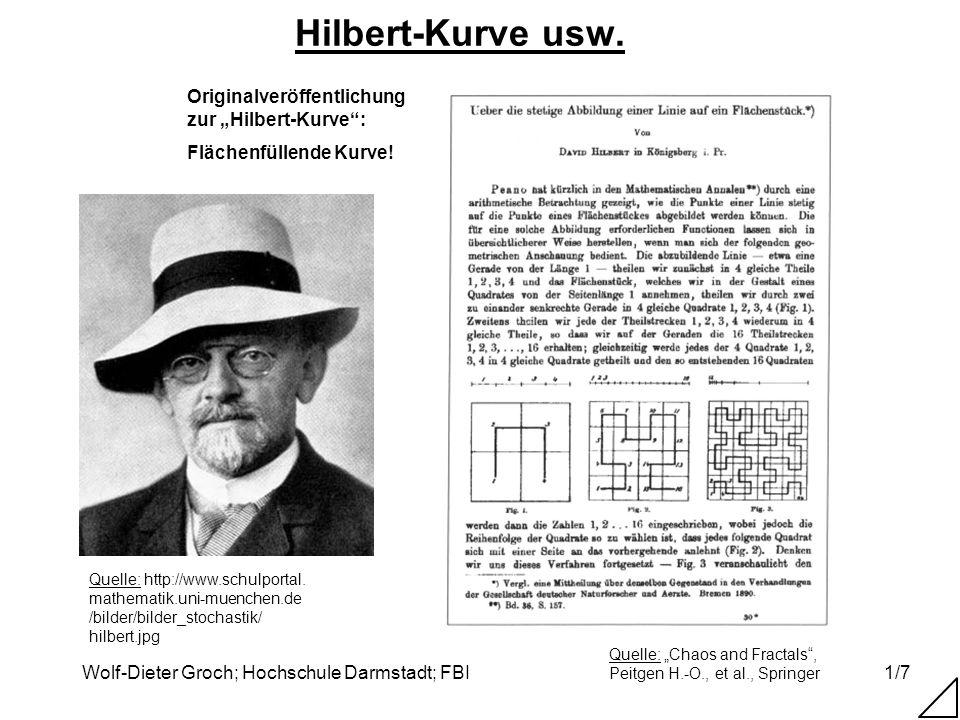 """Hilbert-Kurve usw. Originalveröffentlichung zur """"Hilbert-Kurve :"""