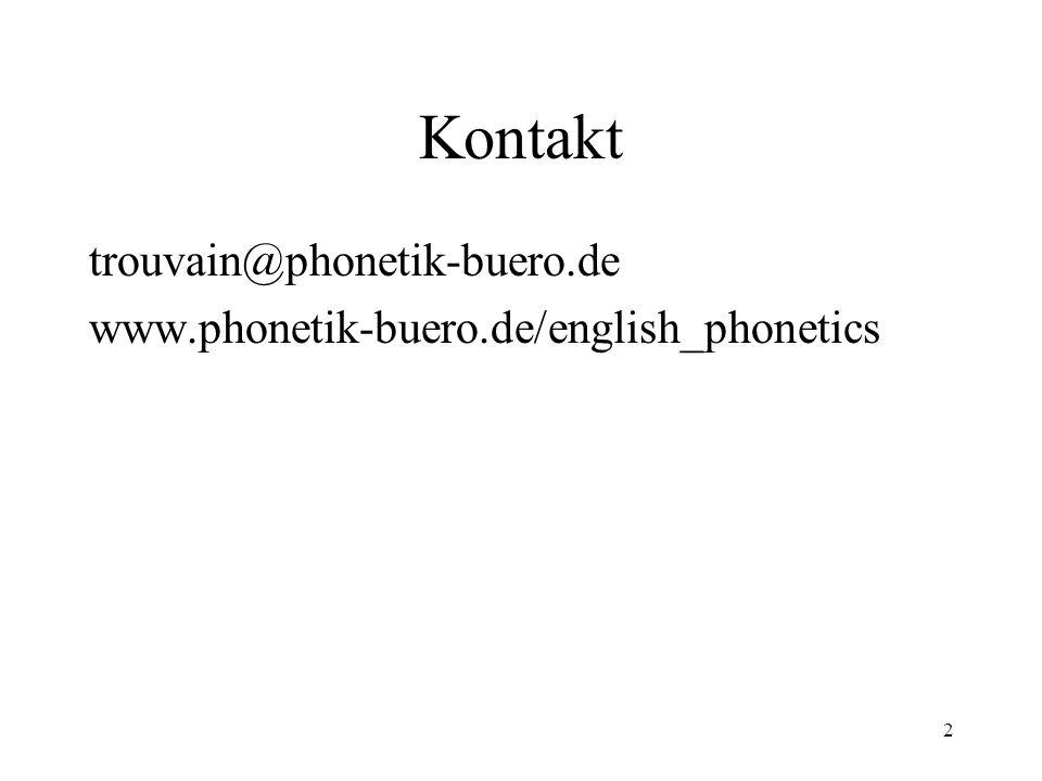 Kontakt trouvain@phonetik-buero.de