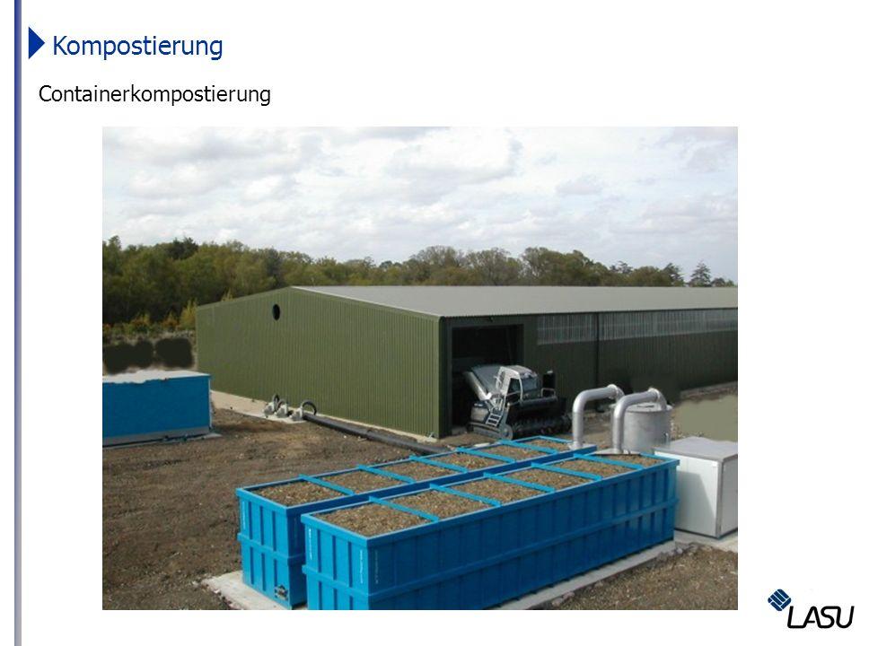 Kompostierung Containerkompostierung