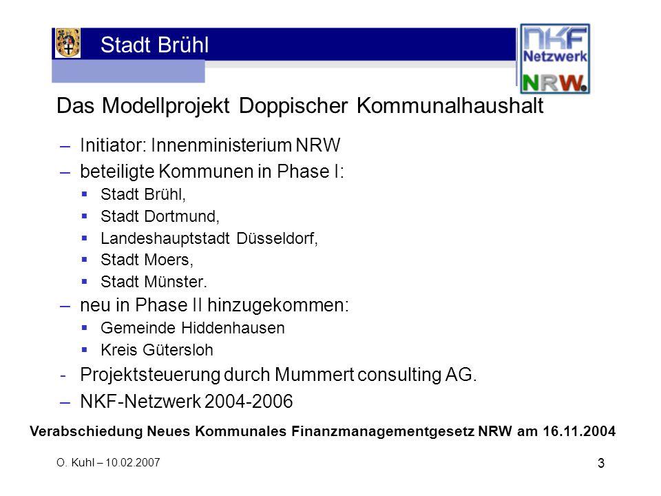 Das Modellprojekt Doppischer Kommunalhaushalt