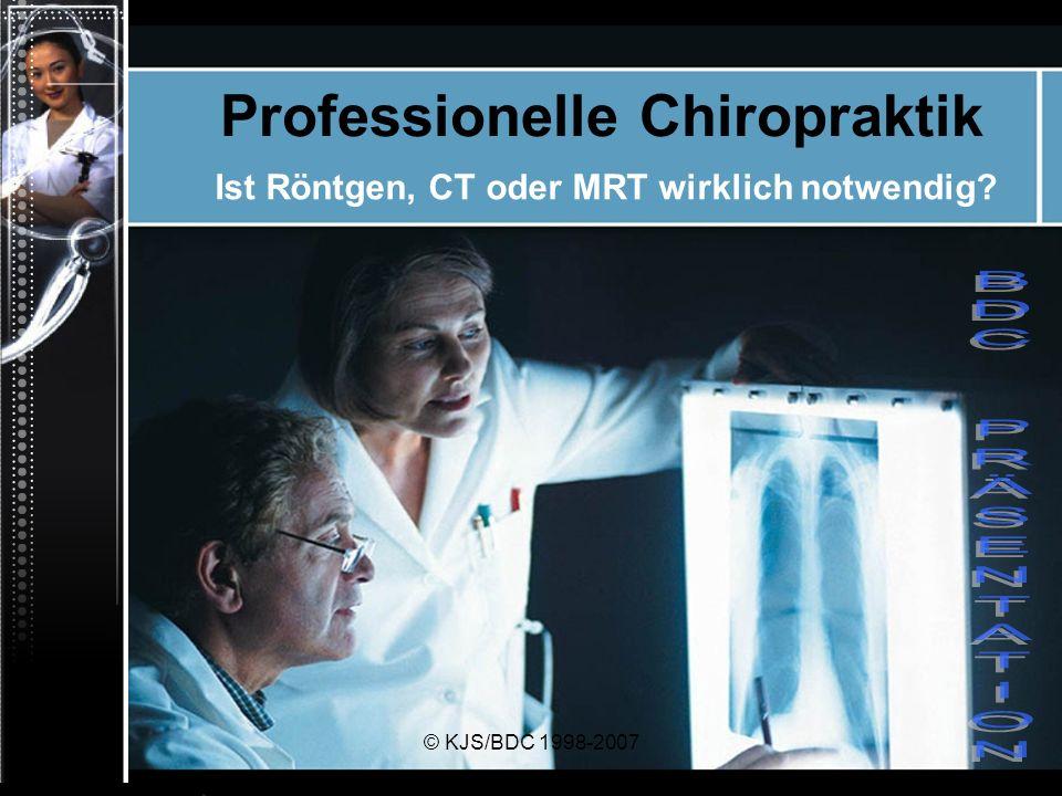 Professionelle Chiropraktik