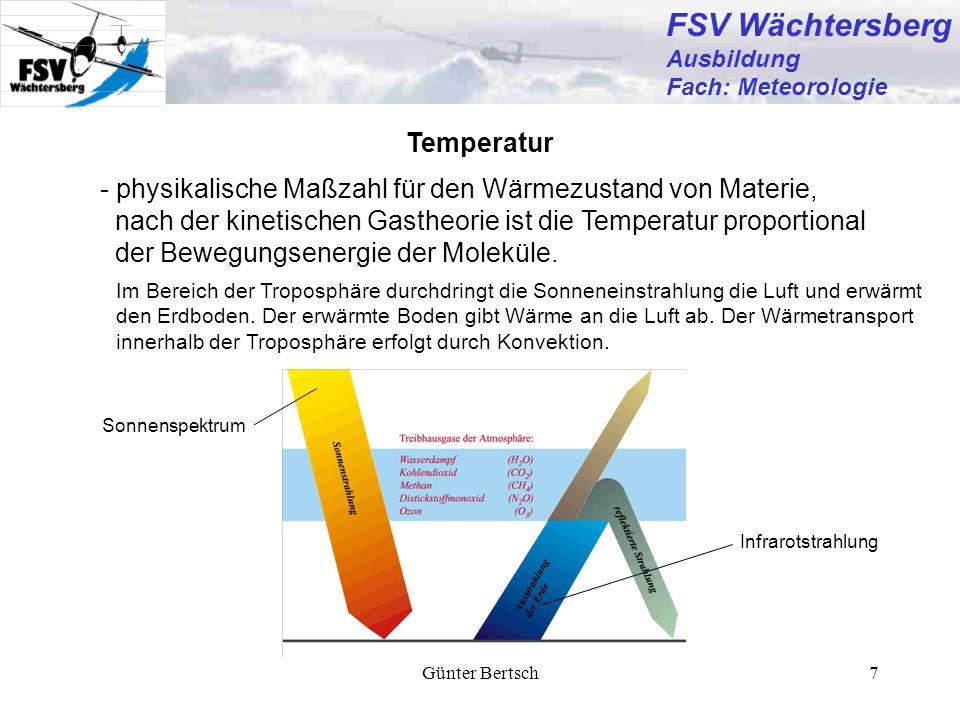 FSV Wächtersberg Temperatur
