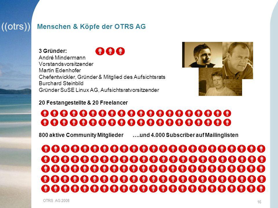 Menschen & Köpfe der OTRS AG