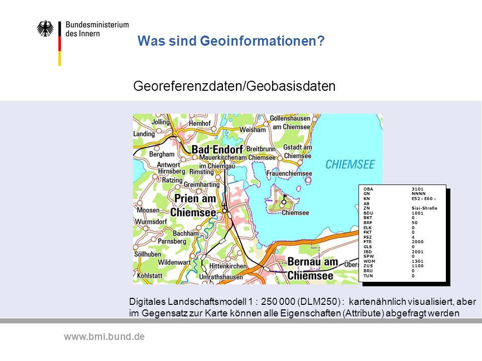 Was sind Geoinformationen