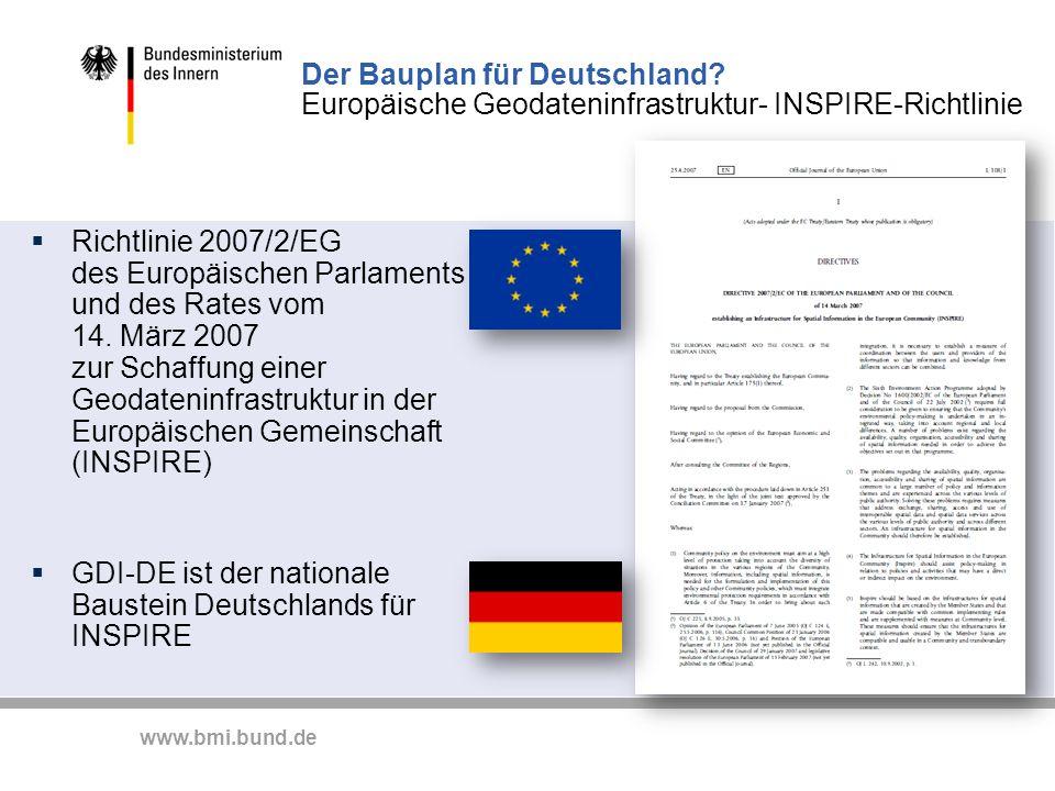 Der Bauplan für Deutschland