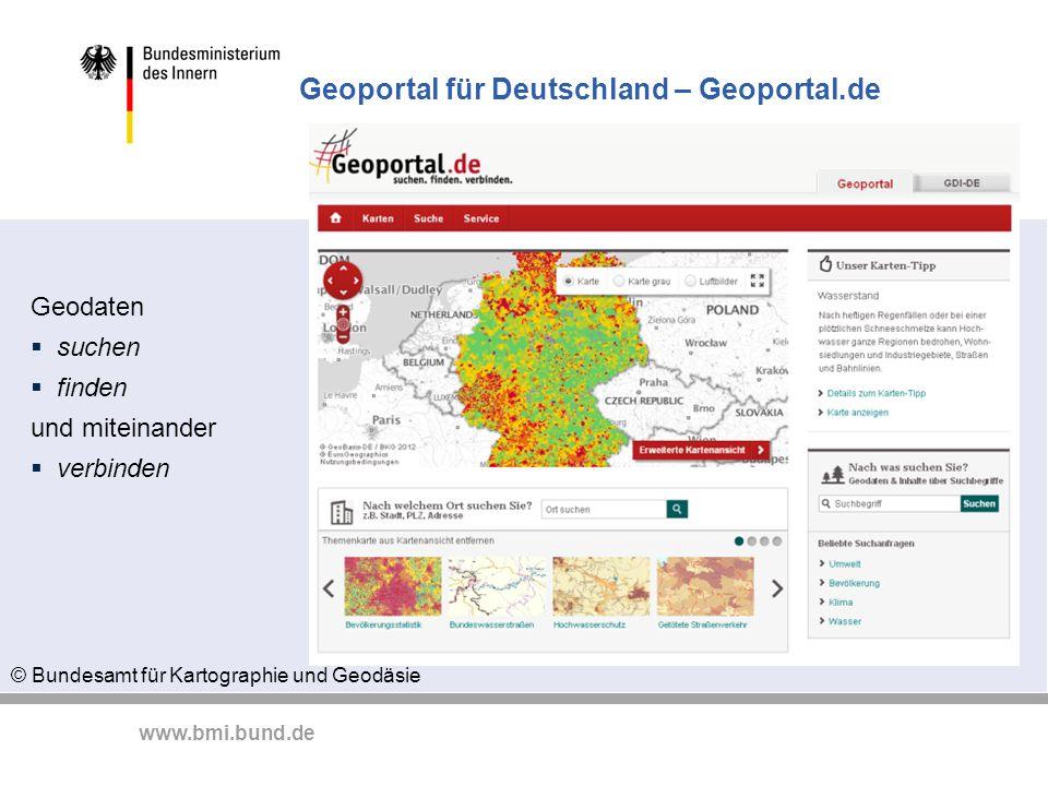 Geoportal für Deutschland – Geoportal.de