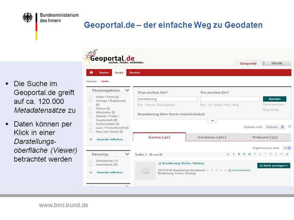 Geoportal.de – der einfache Weg zu Geodaten