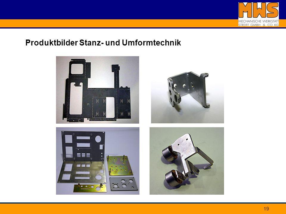 Produktbilder Stanz- und Umformtechnik