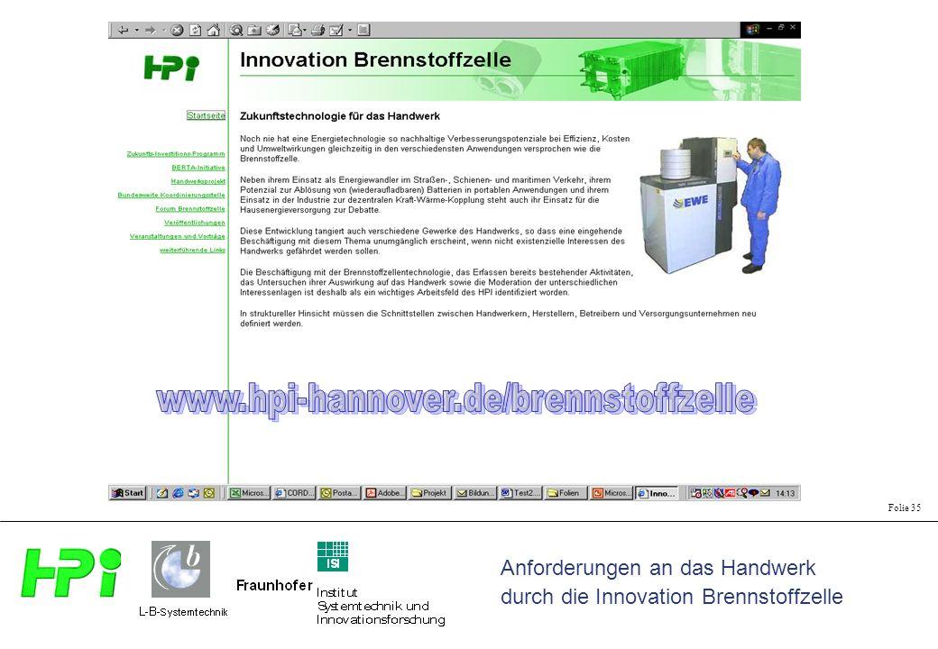 www.hpi-hannover.de/brennstoffzelle Selbsterklärend