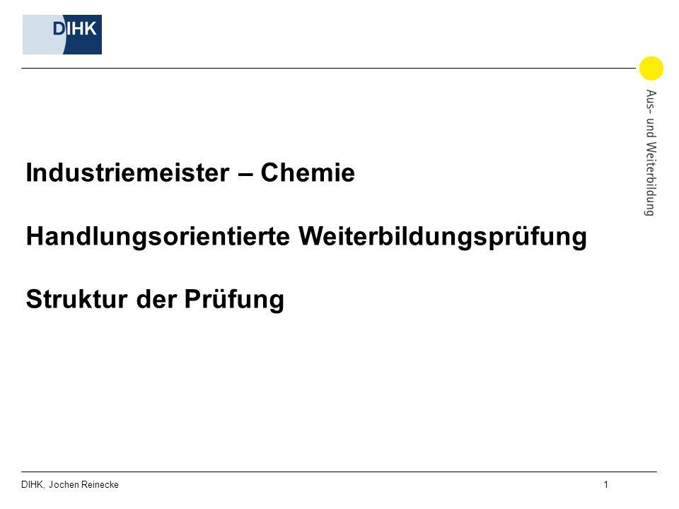 industriemeister chemie handlungsorientierte weiterbildungsprfung - Fachgesprach Industriemeister Metall Beispiele